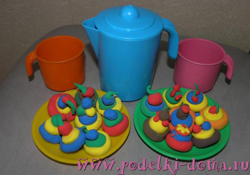 plastilin Как сделать еду для кукол из пластилина: еда для монстер хай и для барби
