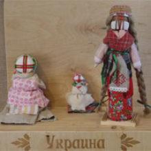 Трипольская кукла (мотанка)