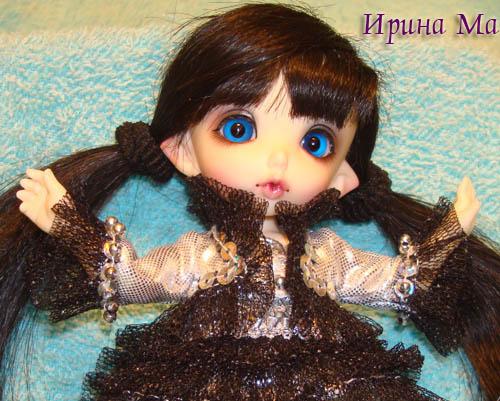 Наряд для пупса - Эльфийская принцесса
