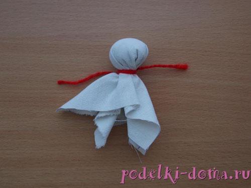 тряпичная кукла оберег от худого слова
