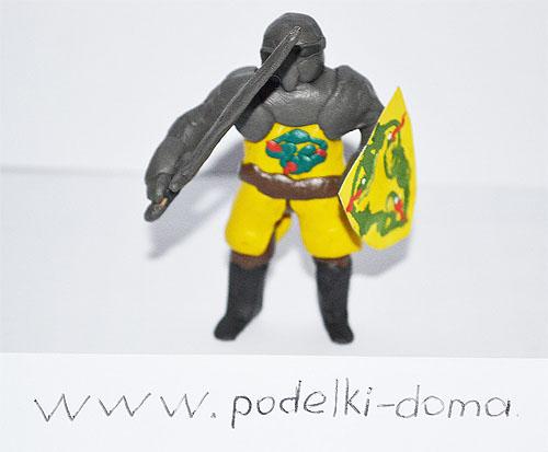 пластилиновый рыцарь