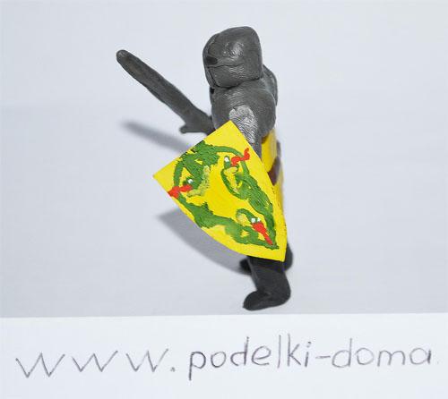 Рыцарь из пластилина