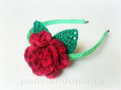 Цветы, вязаные крючком (со схемами)