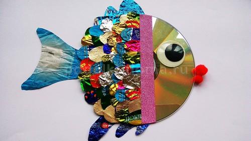 Что можно сделать из дисков (старых CD)?