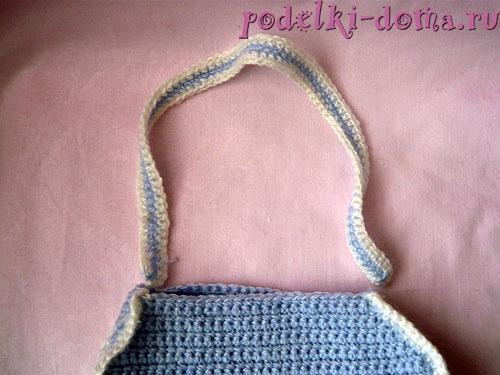 Детская сумочка крючком