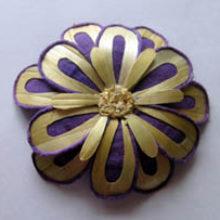 Цветы из соломки