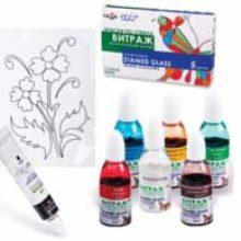 Выбираем краски для росписи стекла. Фирмы «Гамма» и «Pebeo»
