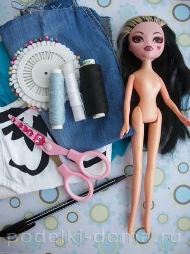 простая одежда для кукол01