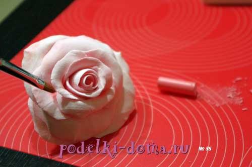 rozy iz polimernoy gliny17
