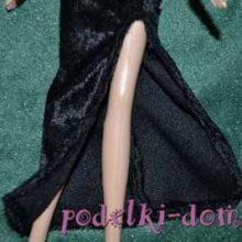 Мастер-класс «Вечернее платье для куклы»