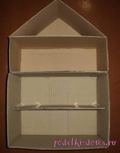 Как сделать трехэтажный дом из бумаги 181