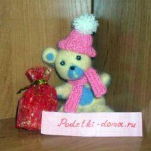 Медвежонок с новогодними подарками