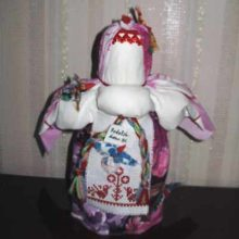 Кукла Птица-Радость. Закликаем весну!