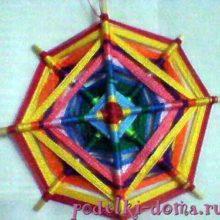 Мастер-класс по восьмиконечной звезде (мандале) и Святочные колядки