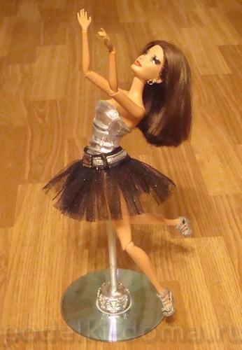 Как сделать подставку для кукол Забавы от Натальи 89