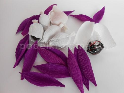 Домик из конфет своими руками