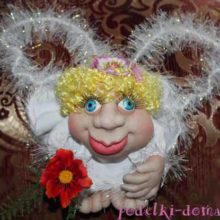 Кукла «Попик» из капрона своими руками
