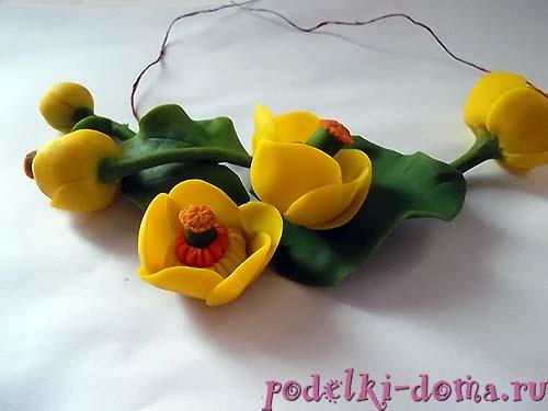 cvety iz gliny