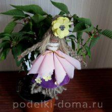 Авторская кукла Хризантема
