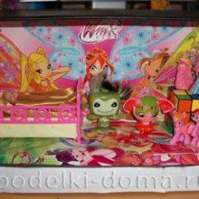 Кукольный домик из коробок