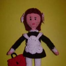 Куколка «Школьница»