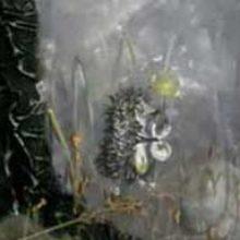Панно «Ёжик в тумане»