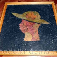 Картина «Дама в шляпе»