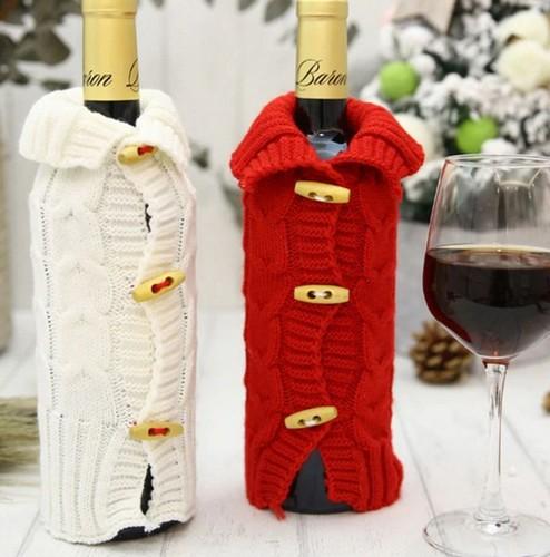 Как украсить бутылку шампанского на Новый год