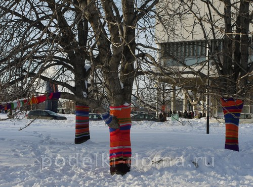 Игрушки на городскую елку - фото идей и мастер-классы