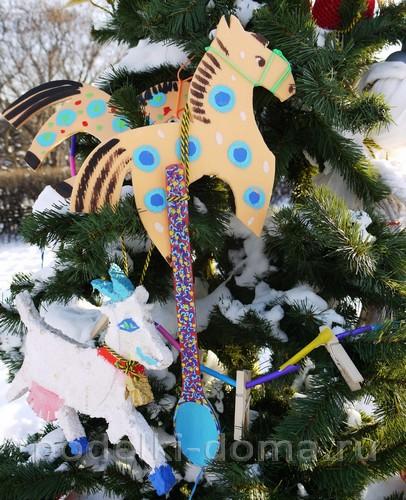 elka-igrushki Новогодние елочные игрушки своими руками