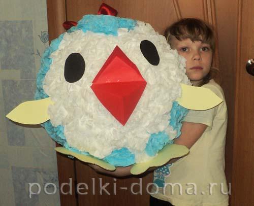 igrushka-na-gorodskuyu-elku-pingvin2 Новогодние елочные игрушки своими руками