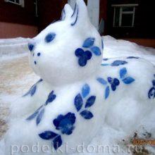 Снежные скульптуры — больше 100 фото