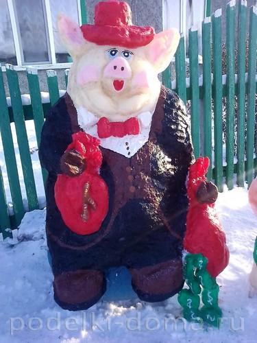 Снежные скульптуры - больше 100 фото