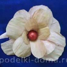 Цветок из талаша