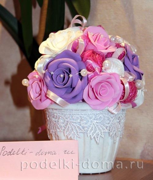 rozy iz foamirana kompoziciya