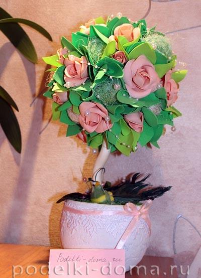 topiariy rozy Evgeniya Kaydalova