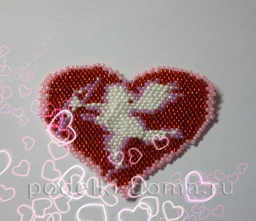 valentinka iz bisera kupidon20