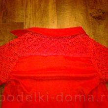 Как декорировать блузку