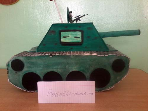 tank podelka