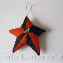 Звезда в стиле Георгиевской ленты