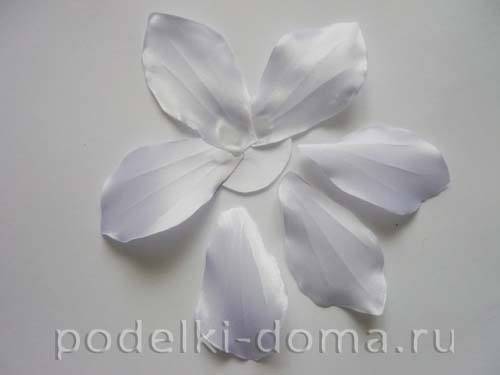 zakolka cvetok lilii iz atasnoy lenty12