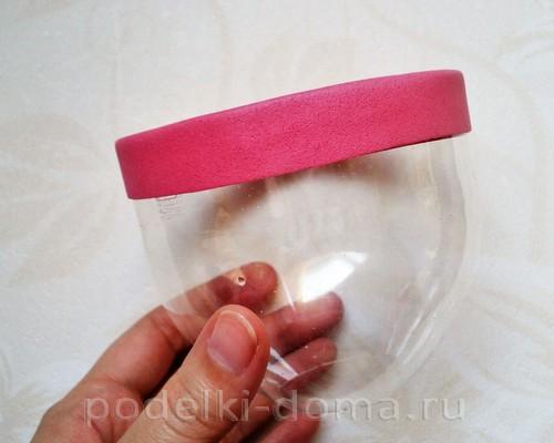 чашка из пластиковой бутылки 05