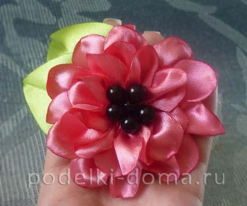 cvetok iz atlasnoy lenty13