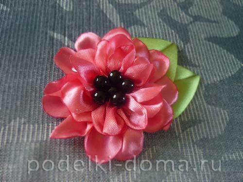 cvetok iz atlasnoy lenty15