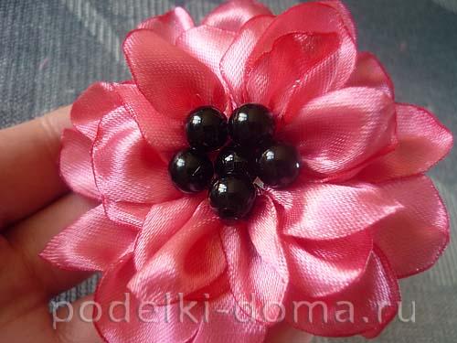 cvetok iz atlasnoy lenty8