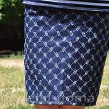 Как сшить прямую джинсовую юбку