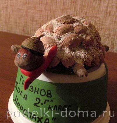 cherepaha iz kostochek