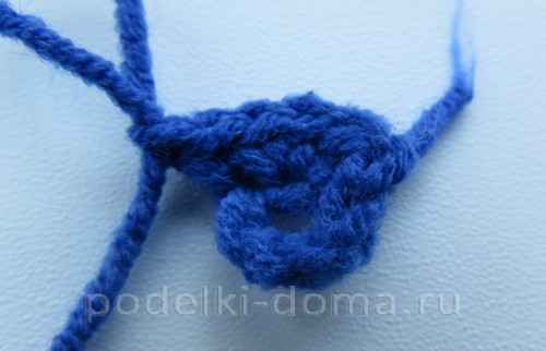 Елочки (вязание крючком)