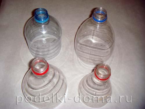 elochnye igrushki iz plastikovyh butylok 2
