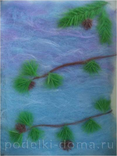 kartina snegiri sherstyanaya akvarel6